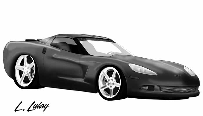 Artwork -C6 Corvette