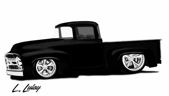 Artwork -Foose Truck Tribute