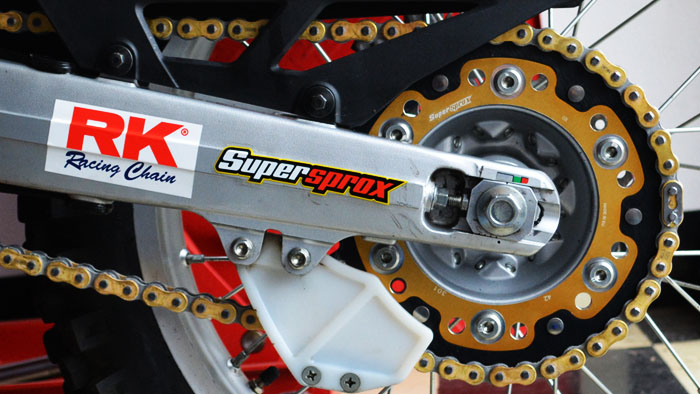 Supersprox on RDR CRF250L Installed