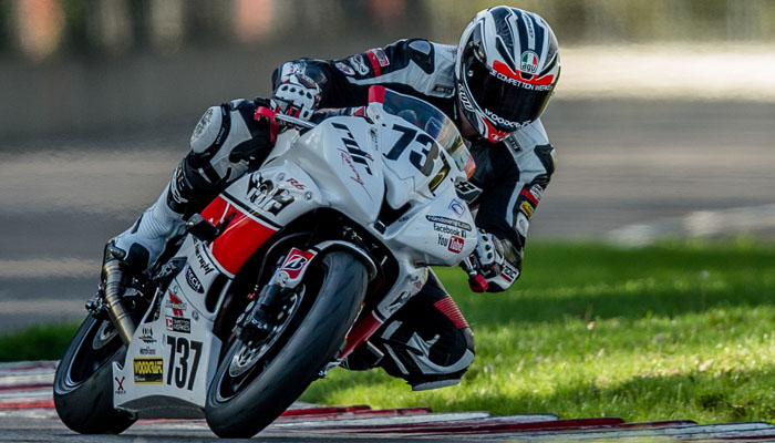 Larry Lulay on R6 at PIR