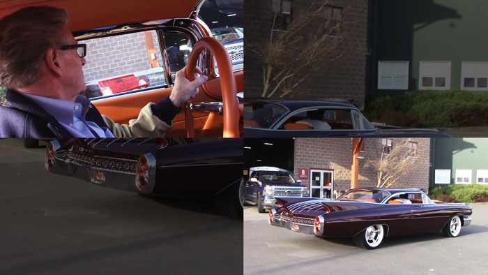 Video -Cruisin in the Copper Caddy with Jerry Logan