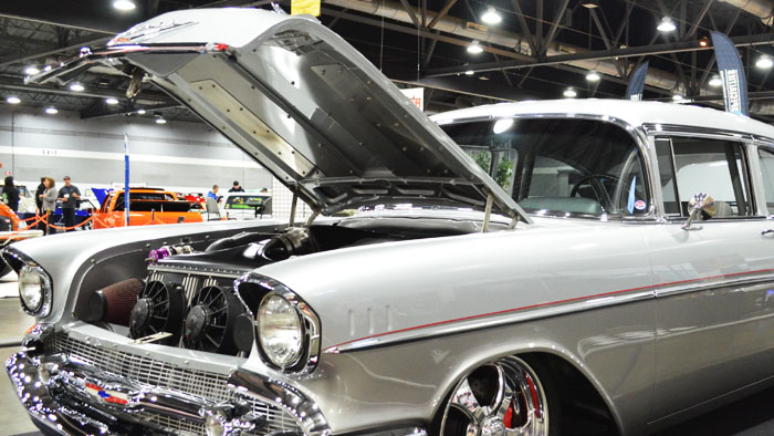 Video -1589HP Twin Turbo 1957 Chevrolet Belair called Sleeper 57
