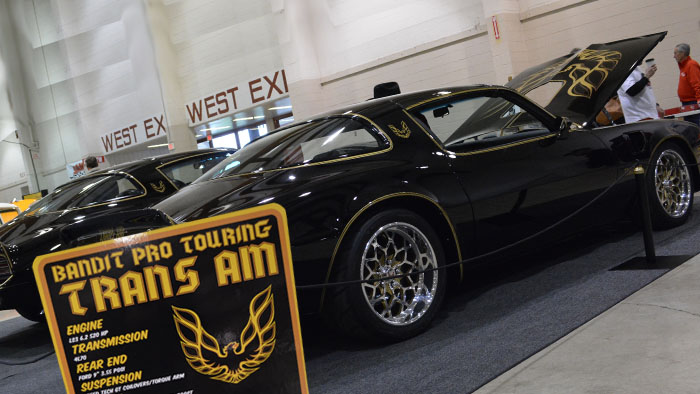 Video -1976 Pontiac Trans Am Special Edition One Owner and Custom 1977 at the 2019 Salem Roadster Show