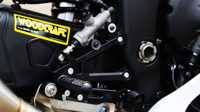 Woodcraft R6 Rearsets