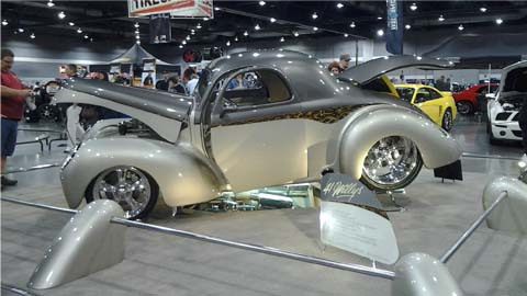 Willys Streetrod Display