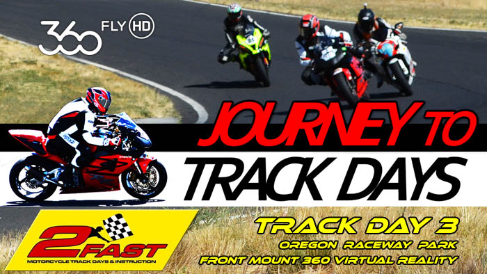 Video -360Fly VR on J2TD CBR at Oregon Raceway Park - Track Day 3 360 Front Mount
