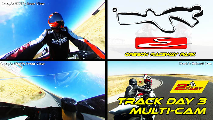 Video -Multiple Onboard Cameras at Oregon Raceway Park for Track Day 3
