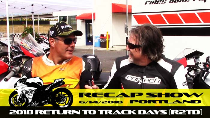 Video -Day 1 of Big Track at PIR - Recap Show