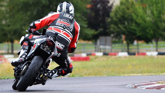 Larry on R3 at MAC Track 3