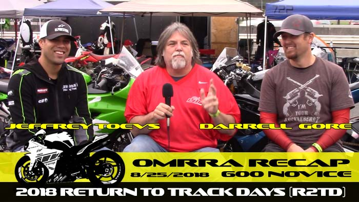 Round 6 - Saturday with Jeff Toevs and Darrell Gore
