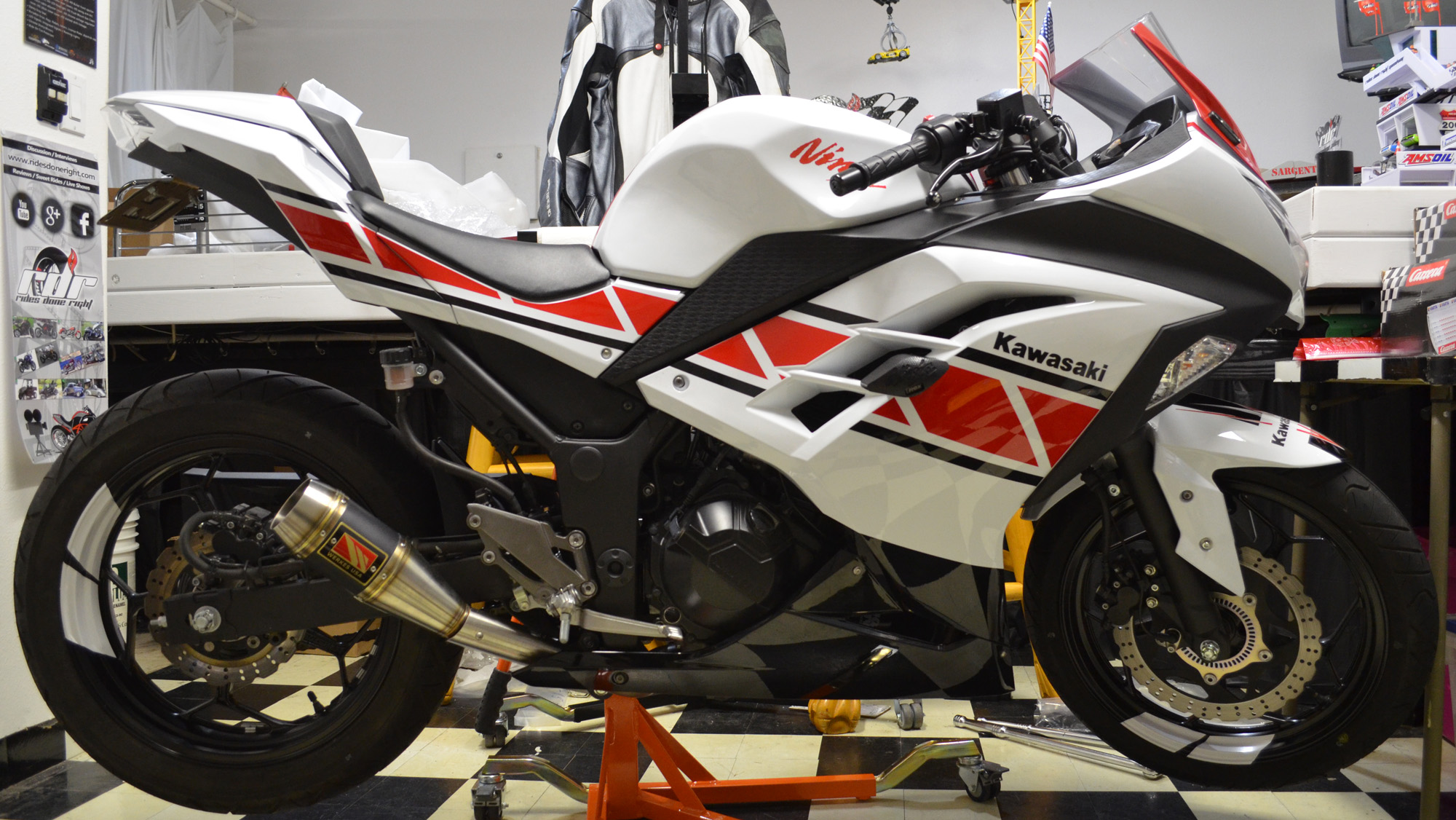 2014 Kawasaki Ninja 300 For The 2017 Return To Track Days Series