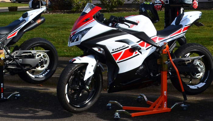 Bursig for Ninja 300 3