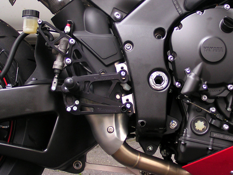Woodcraft R1 Rearsets