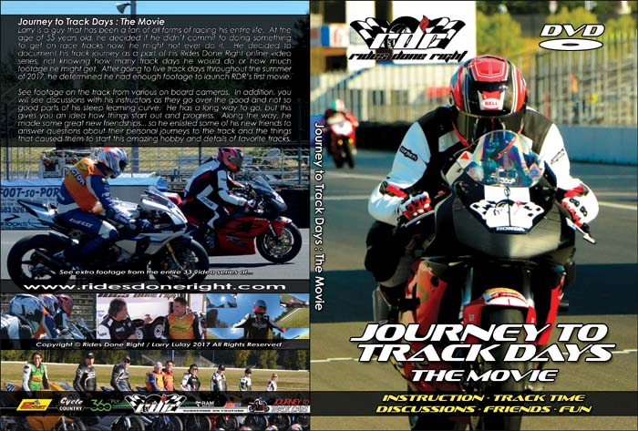 News -Journey to Track Days BluRay Coming Soon