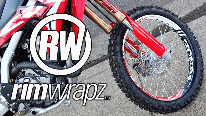 Video -RimWrapz Motorcycle Spoke Wheel Decal Installation